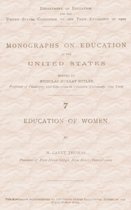 Cover of Education of Women
