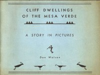 Cover of Cliff Dwellings of the Mesa Verde: A Study in Pictures