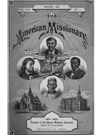 Cover of The American Missionary — Volume 36, No. 1, January, 1882
