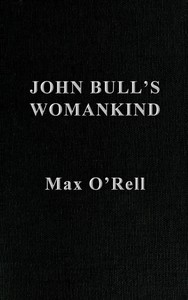Cover of John Bull's Womankind (Les Filles de John Bull)