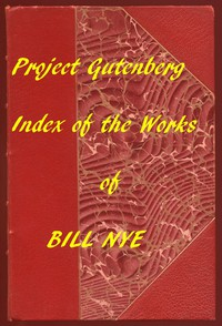 Cover of Index for Works of Bill NyeHyperlinks to all Chapters of all Individual Ebooks