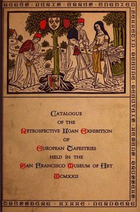 Cover of Catalogue of the Retrospective Loan Exhibition of European Tapestries
