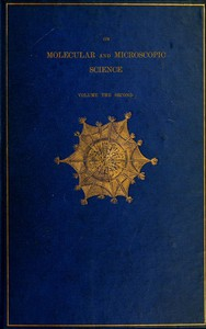 Cover of On Molecular and Microscopic Science, Volume 2 (of 2)