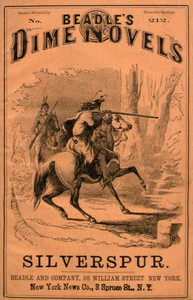 Cover of Silverspur; or, The Mountain Heroine: A Tale of the Arapaho Country