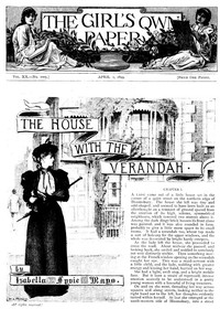 Cover of The Girl's Own Paper, Vol. XX. No. 1005, April 1, 1899