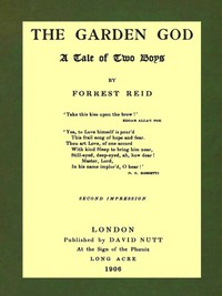 Cover of The Garden God: A Tale of Two Boys