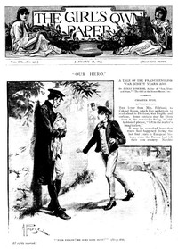 Cover of The Girl's Own Paper, Vol. XX. No. 996, January 28, 1899