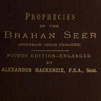 Cover of The Prophecies of the Brahan Seer (Coinneach Odhar Fiosaiche)