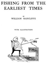Cover of Fishing from the Earliest Times