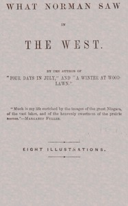 Cover of What Norman Saw in the West