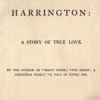 Cover of Harrington: A Story of True Love