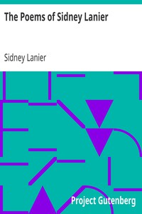 Cover of The Poems of Sidney Lanier
