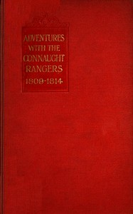 Cover of Adventures with the Connaught Rangers, 1809-1814