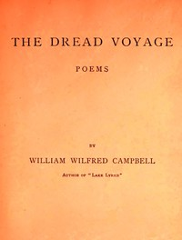 Cover of The Dread Voyage: Poems