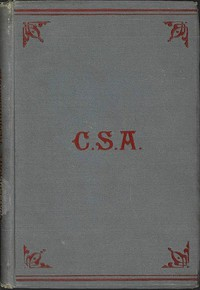 Cover of Reminiscences of Confederate Service, 1861-1865