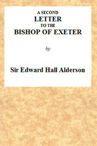 A Second Letter to the Bishop of Exeter