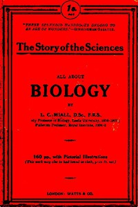 Cover of History of biology