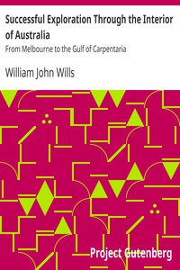 Cover of Successful Exploration Through the Interior of Australia From Melbourne to the Gulf of Carpentaria
