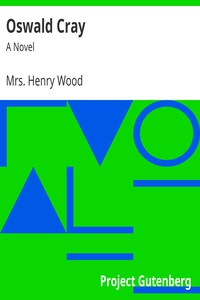 Cover of Oswald Cray: A Novel