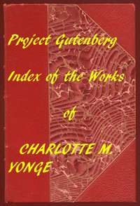 Cover of Index of the Project Gutenberg Works of Charlotte M. Yonge