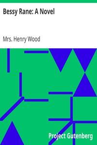 Cover of Bessy Rane: A Novel