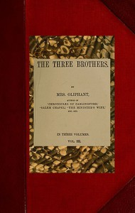 Cover of The Three Brothers; vol. 3/3