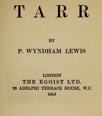 Cover of Tarr