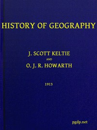 Cover of History of Geography