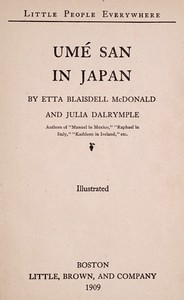 Cover of Umé San in Japan