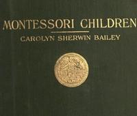 Cover of Montessori children