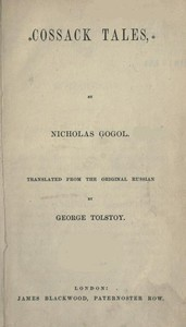 Cover of Cossack Tales