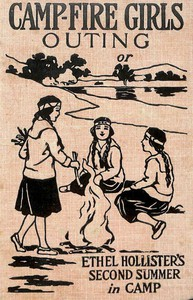 Cover of Campfire Girls' Outing; Or, Ethel Hollister's Second Summer in Camp