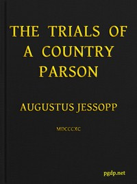 Cover of The Trials of a Country Parson