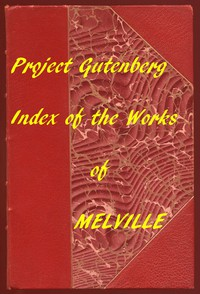 Cover of Index of the Project Gutenberg Works of Herman Melville