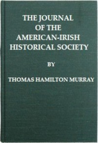 Cover of The Journal of the American-Irish Historical Society (Vol. II)