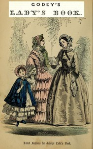 Cover of Godey's Lady's Book, Vol. 48, No. XVIII, April, 1854