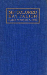 Cover of My Colored Battalion