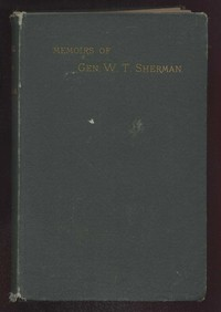 Cover of Memoirs of General W. T. Sherman, Volume I., Part 2