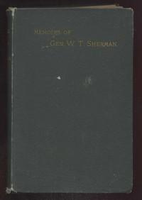 Cover of Memoirs of General W. T. Sherman, Volume II., Part 4