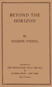 Cover of Beyond the Horizon
