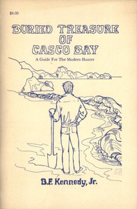 Cover of Buried Treasure of Casco Bay: A Guide for the Modern Hunter