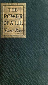 Cover of The Power of a Lie