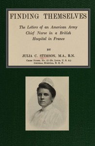 Cover of Finding Themselves The Letters of an American Amy Chief Nurse in the British Hospital in France