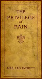 Cover of The privilege of pain
