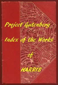 Cover of Index of the Project Gutenberg Works of Joel Chandler Harris