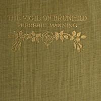 The Vigil of Brunhild: A Narrative Poem