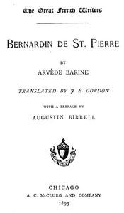 Bernardin de St. Pierre