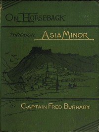 Cover of On Horseback Through Asia Minor, Volume 1 (of 2)