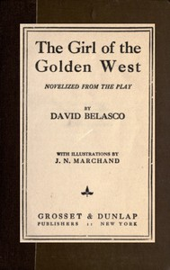 Cover of The Girl of the Golden West