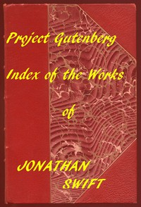 Cover of Index of the Project Gutenberg Works of Jonathan Swift